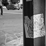 DTLA Sticker Art
